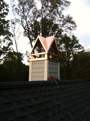 Four Gable Copper Chimney Cap From Volko Supply