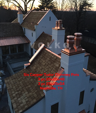 copper chimney pots tudor pot nashville