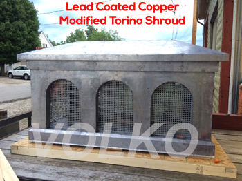 lead coated copper shroud