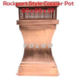 rockport chimney pot