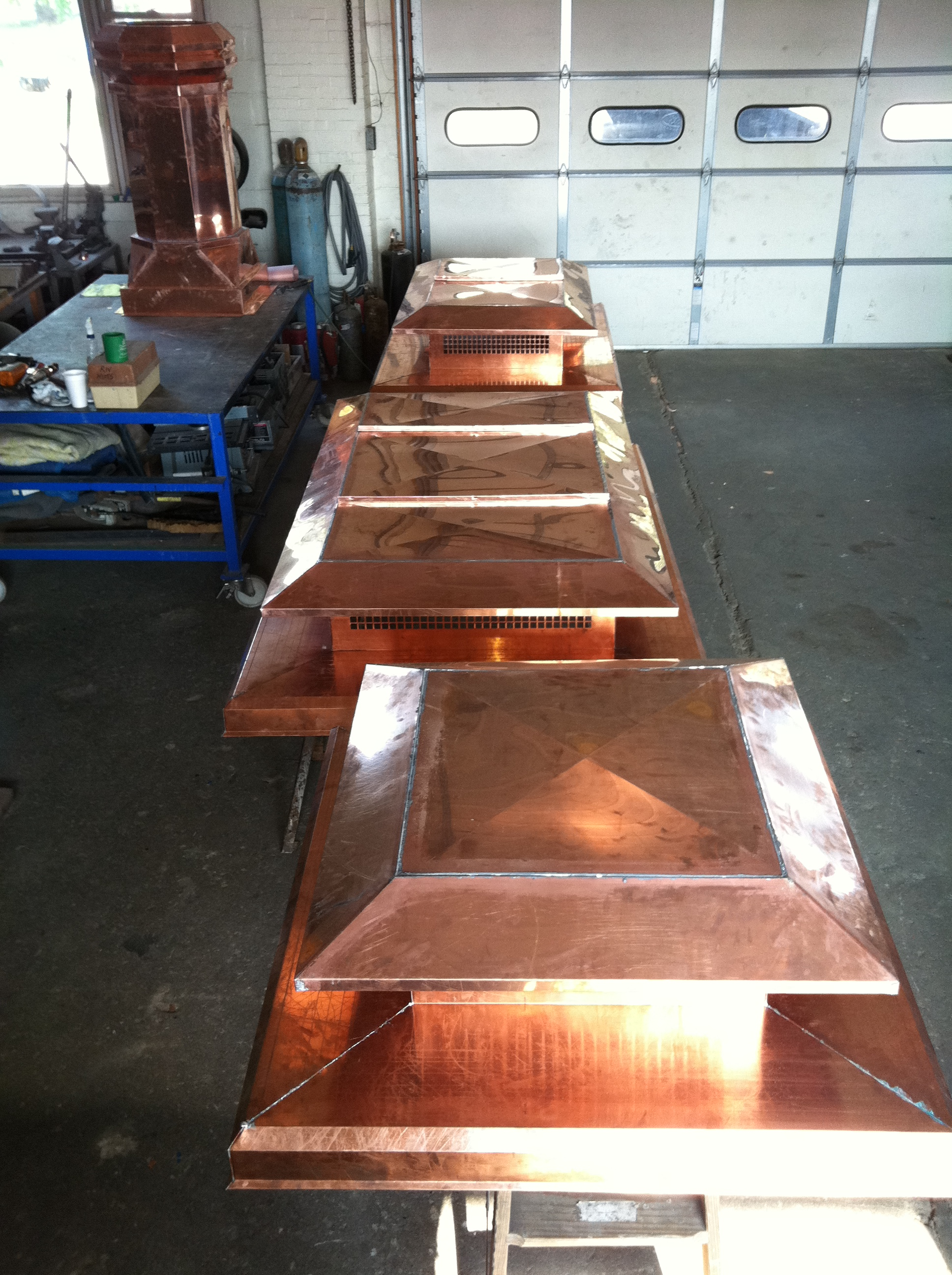 Volko Supply Copper Chimney Pots And Caps Stock And