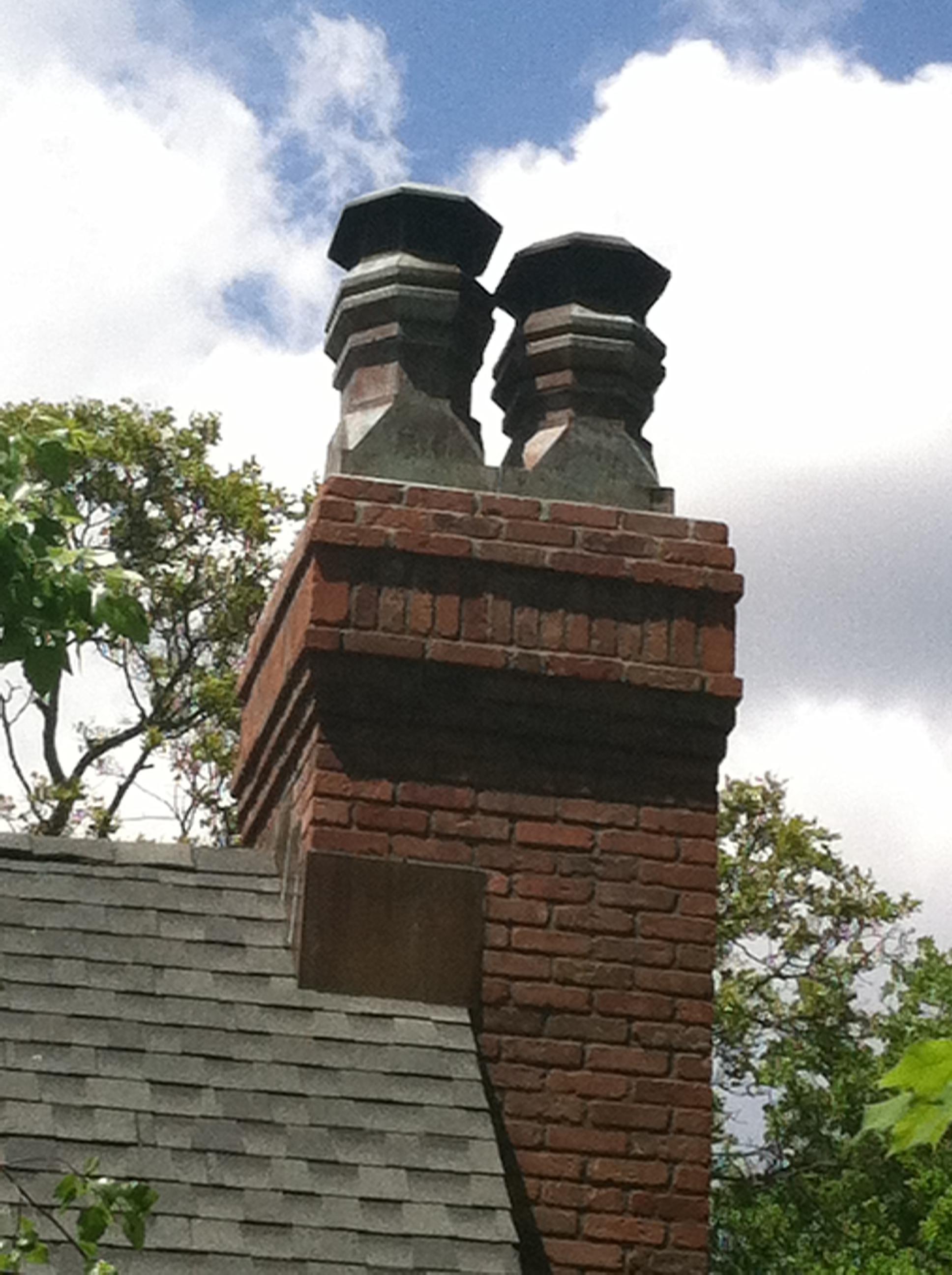 Volko Supply Tudor Copper Chimney Pots